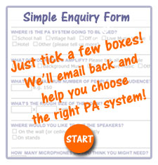 Click to fill in our simple enquiry form