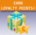 Earn loyalty points when you buy through the What PA online shop that you can redeem against future purchases!